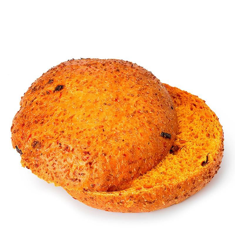 Spicy Bun - Red Curry, geschnitten