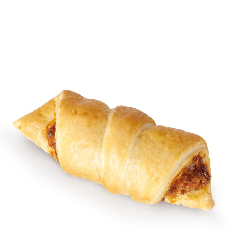 Mini croissant au jambon