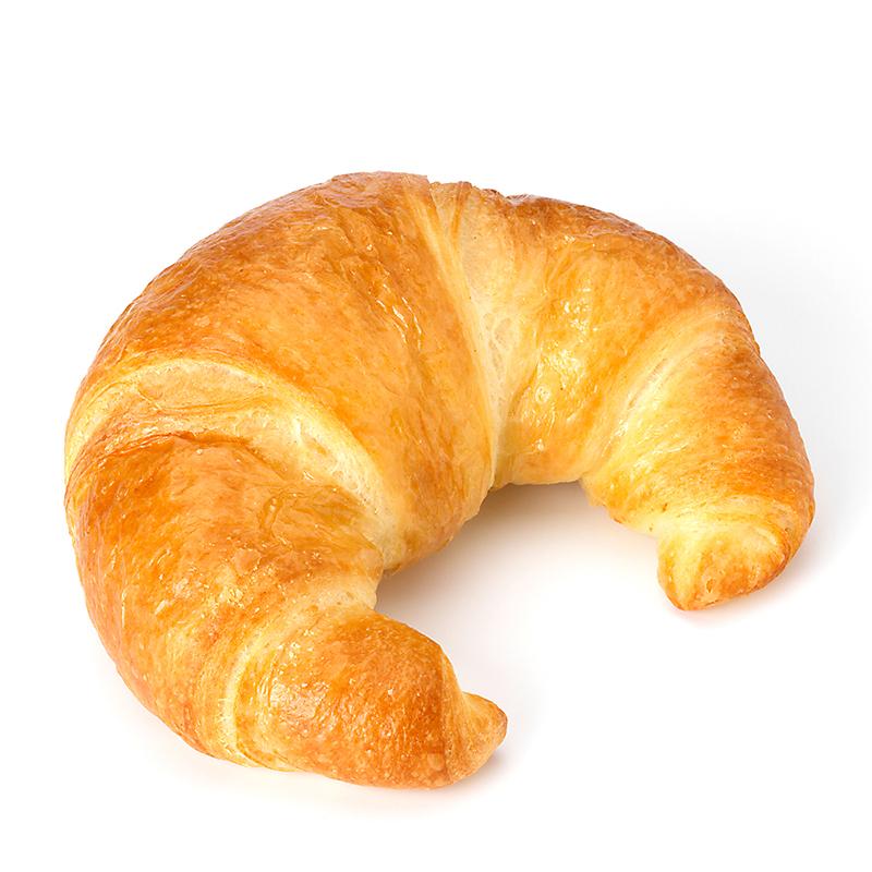 Petit croissant au beurre, précuit