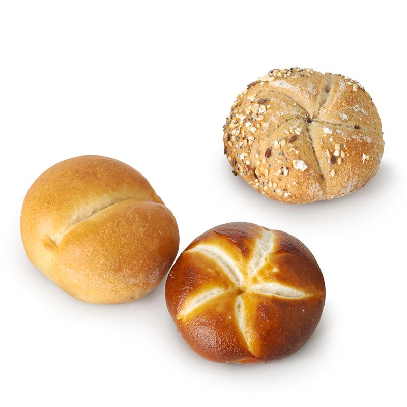 Assortiment de petits pains pour l'apéritif