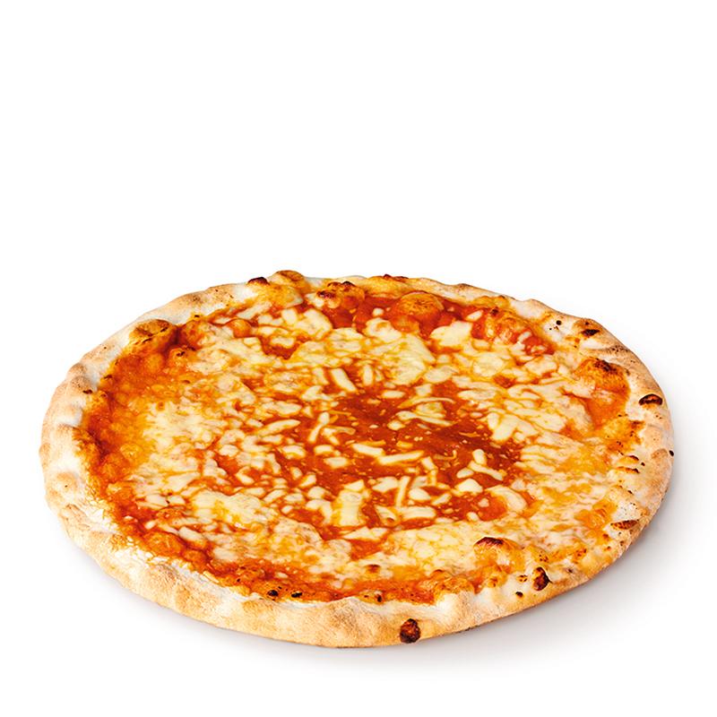 Pizza Margherita, précuite