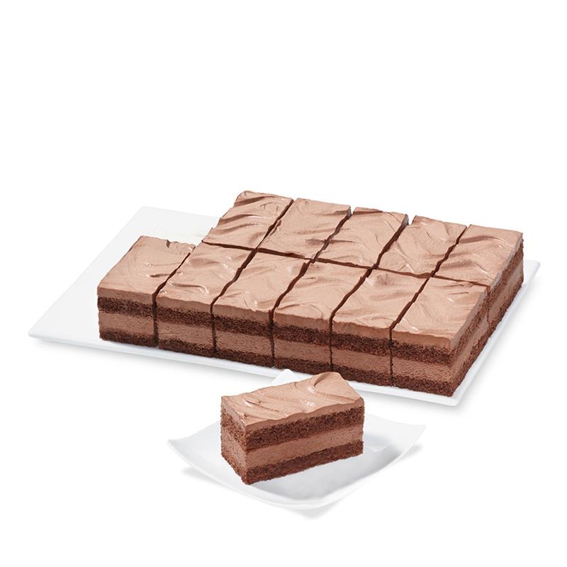 Tranches chocolate à la crème