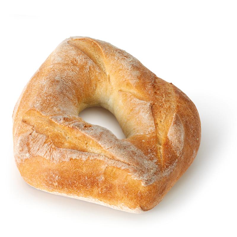 Petit pain couronne, blanc
