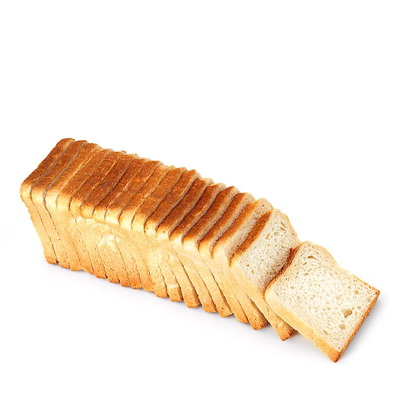 Toastbrot, geschnitten